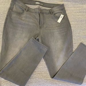 *NWT* Old Navy Super Skinny Jeans Size 16 Grey